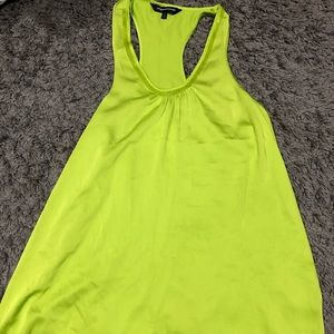 Express Lime Green Tank Top